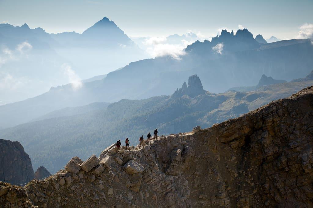 Alta Via 1 Trekking in the Dolomites Italy Lagazuoi