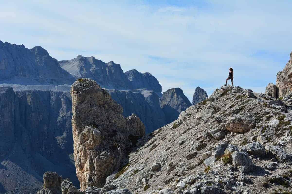 Above Passo Gardena Alta Via 2 Dolomites (c) Kurt Lybaert 27