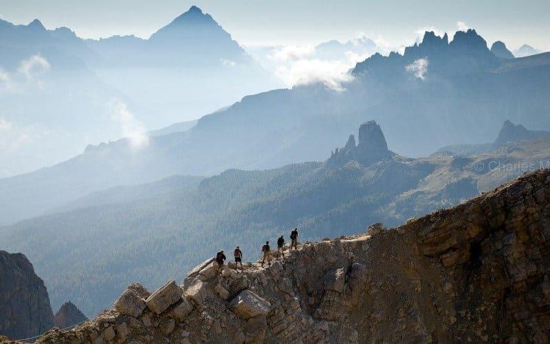Alta Via 1 Lagazuoi Ridge (c) Charles Masters