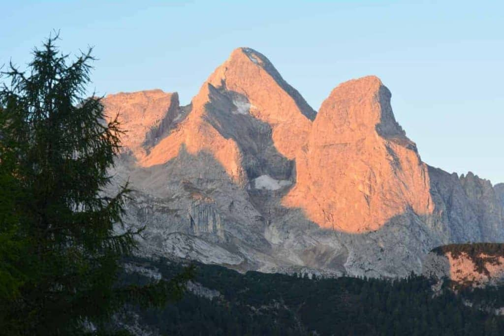 Alta Via 2 Dolomites Italy trekMountains Below Marmolada (c) Kurt Lybaert 03.