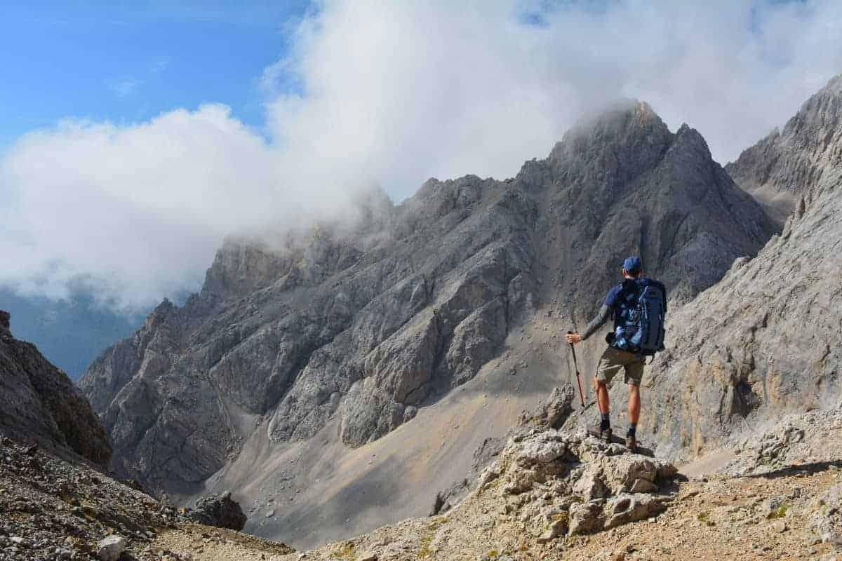 Alta Via 2 Dolomites Italy trekMountains Passo delle Cirelle (c) Ann Foulkes