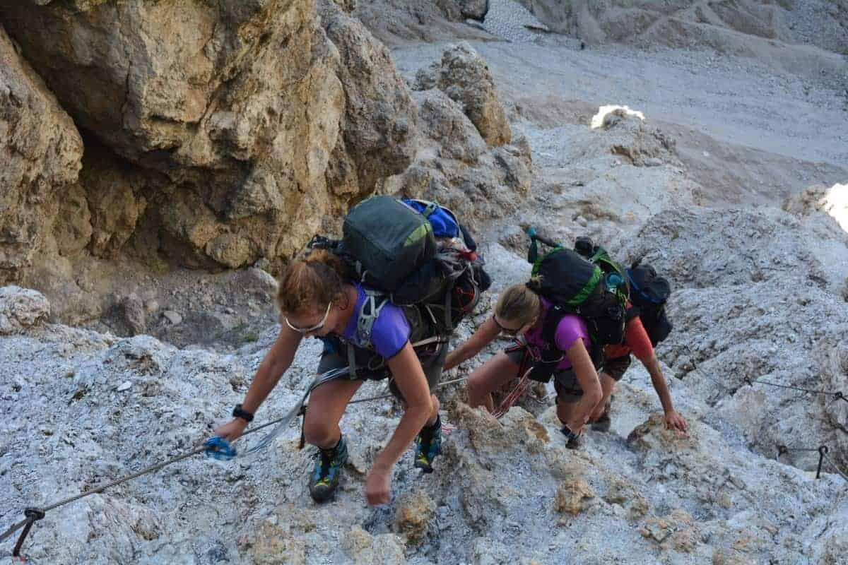 Alta Via 2 Dolomites Italy trekMountains (c) Kurt Lybaert