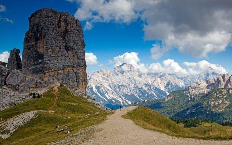 Cinque Torre Alta Via 1 Dolomites