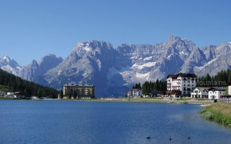 Lake Misurina Tre Cime Trek Dolomites (c) Ann Foulkes trekMountains