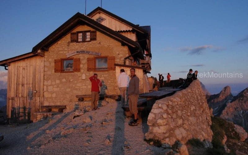 Rifugio Nuvolau Alta Via 1 Dolomites (c) Ann Foulkes trekMountains