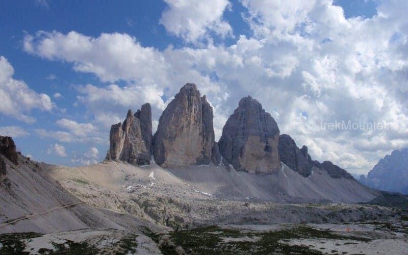 Tre Cime Dolomites (c) Ann Foulkes trekMountains
