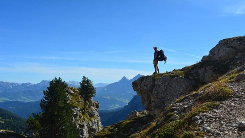 Alta Via 2 Dolomites Italy trekMountains